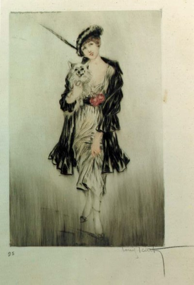 'Little Dog' by Louis Icart