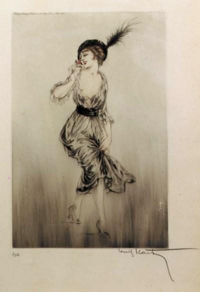 'Rosebud' by Louis Icart