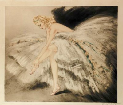 'Music Hall' by Louis Icart
