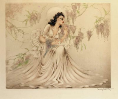 'Lilac' by Louis Icart