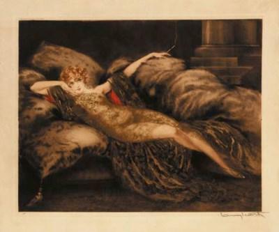 'Golden Veil' by Louis Icart