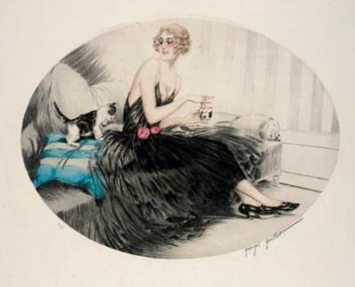 A Georges Grettel etching