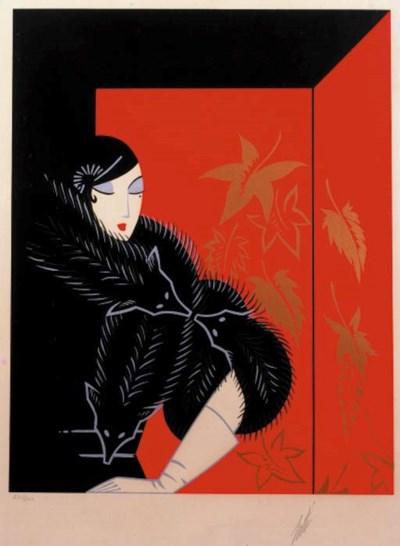 A silkscreen by Roman de Tirof