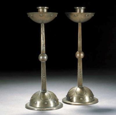 A pair of WMF candlesticks
