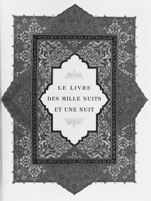 ARABIAN NIGHTS -- CARRE, Léon