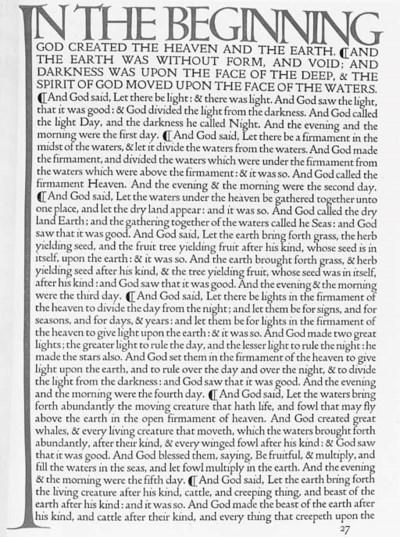 DOVES PRESS -  The English Bib