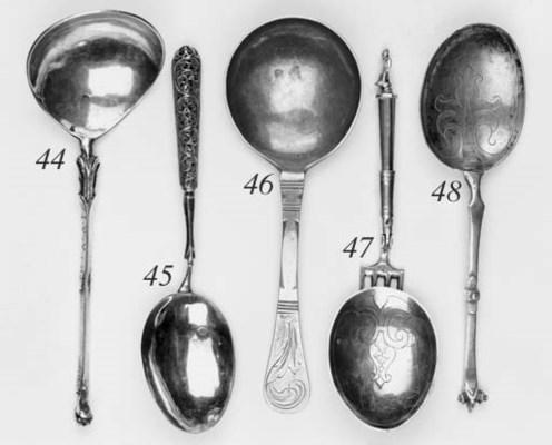 A 17th century Dutch spoon,