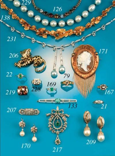 A continental, cultured pearl