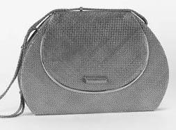 A continental mesh evening bag,