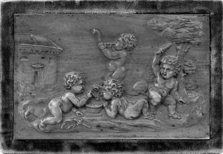 A Flemish boxwood relief plaque, first half 18th century