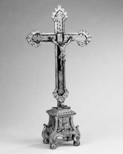 An Italian giltwood Corpus Chr