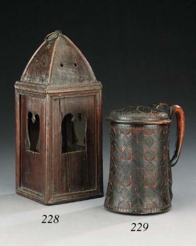 A rare pine lantern, perhaps m