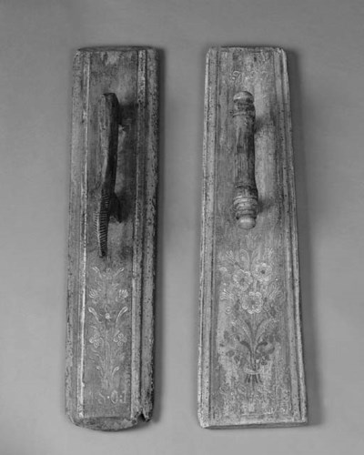 Two Scandinavian polychrome wo
