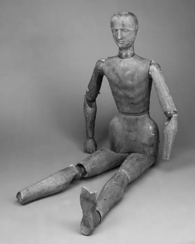 A pine artists lay figure, lat
