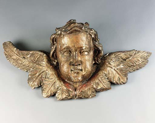 A Central European carved gilt