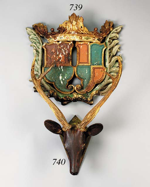 A Continental polychrome and p