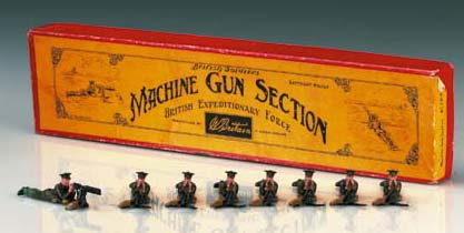 Britains Set 194 Machine Gun S