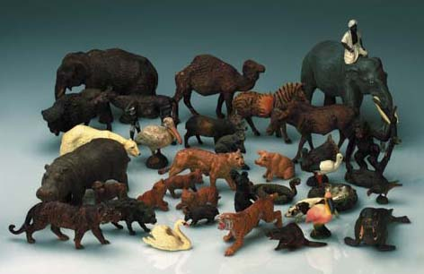 Elastolin and other composition Zoo Animals