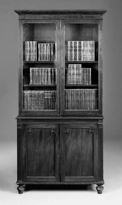 A Victorian mahogany bookcase