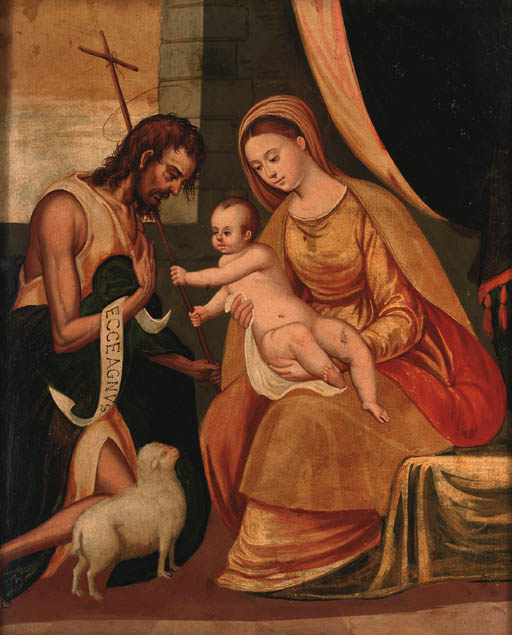 Follower of Jacopo Robusti, il