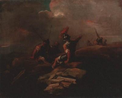 Circle of Salvator Rosa (1615-