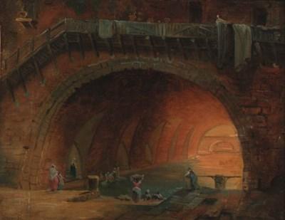 Circle of Hubert Robert (1733-