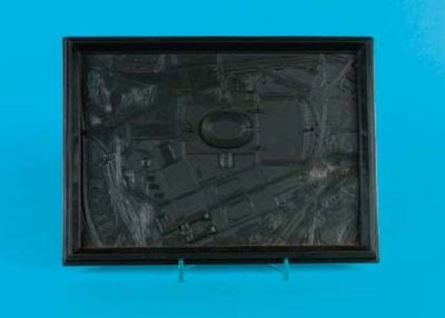 A MODEL OF THE OLYMPIC STADIUM