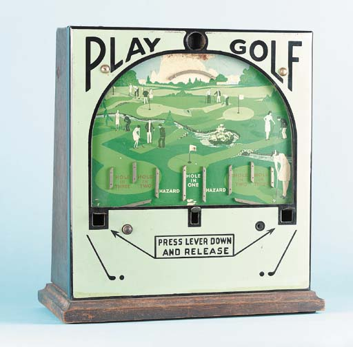 A PLAY GOLF TABLE-TOP SLOT MAC