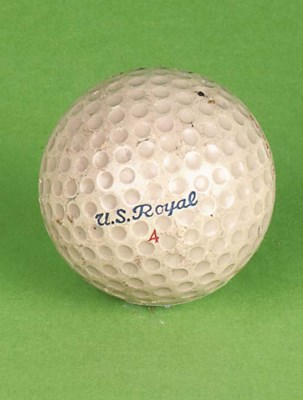 A U.S. ROYAL DIMPLE GOLF BALL