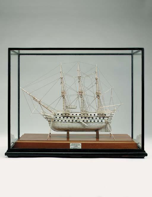 An English bone model of the 7