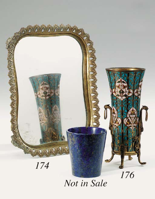 A French champlevé enamelled p