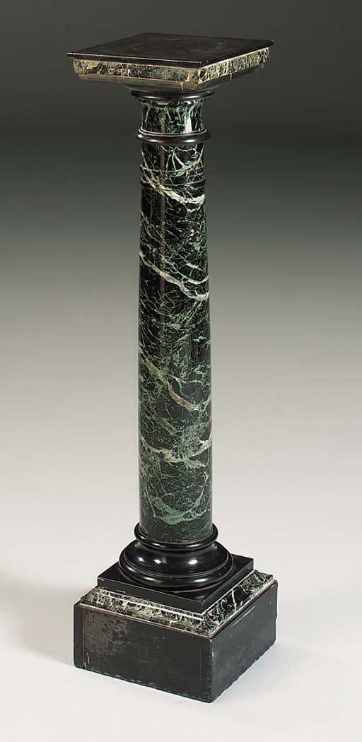 A French marmo verdi antico an
