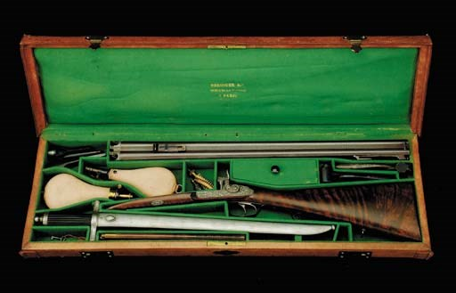 An Unusual Cased Combined 15-B