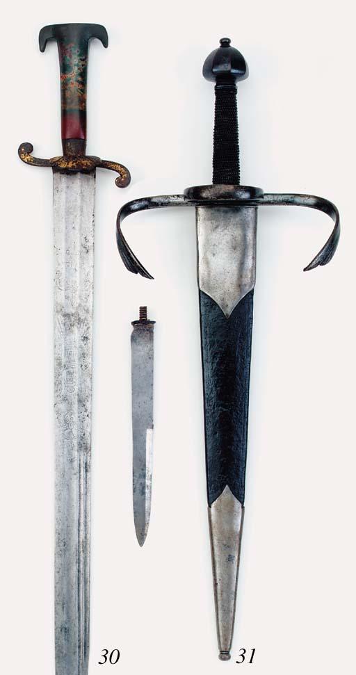 A Fine Saxon Left-Hand Dagger