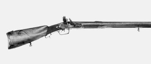 A 25-Bore German D.B. Flintloc