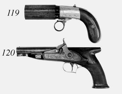 A 60-Bore D.B. Silver-Mounted