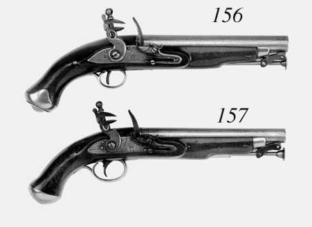 A .75 (Musket Bore) Flintlock