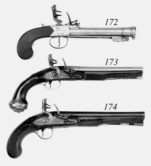 A Pair Of 25-Bore Flintlock Pi
