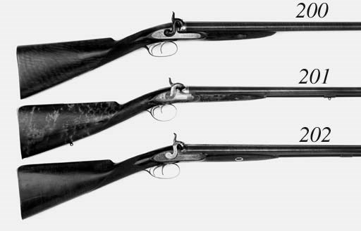 A Pair Of 15-Bore French D.B.