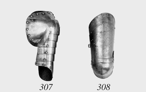 A German Left Cuisse And Poley