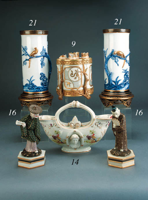 A pair of Royal Worcester Japo