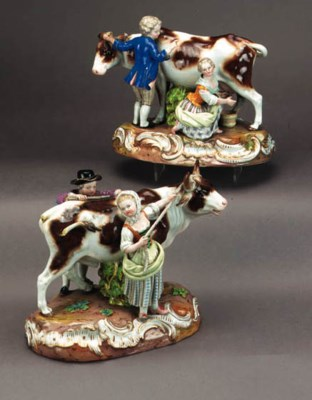 A pair of Meissen groups of co