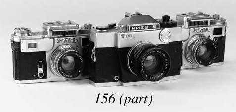Six Kiev cameras