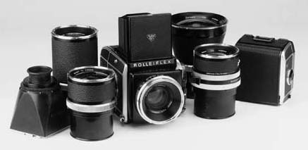 Rolleiflex outfit