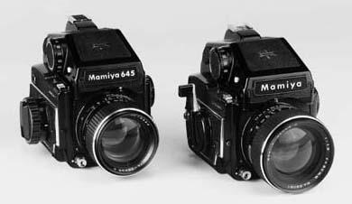 Mamiya 645 cameras