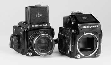 Mamiya M645 cameras