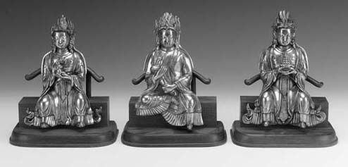 A group of three Sino-Tibetan