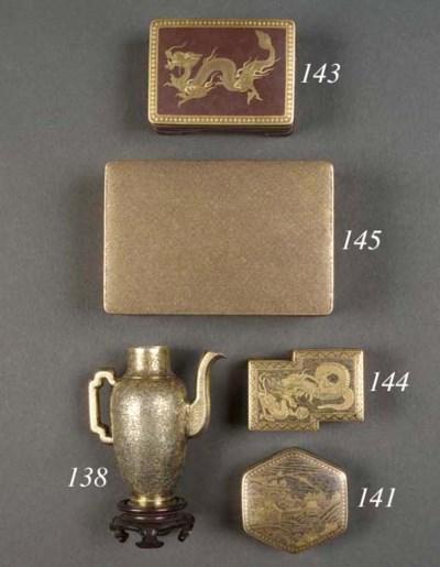 A Komai box and cover