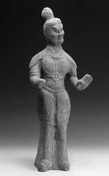 A Tang pottery model of a guar