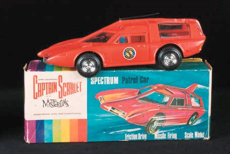 Captain Scarlet and The Myster